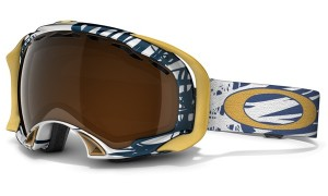 Gogle snow OAKLEY SPLICE Scratch Dark Blue / Black Iridium 57-881