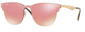 Okulary RAY BAN Brushed Gold / Pink Mirror ORB3576N-043/E4