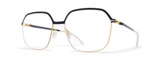 Okulary MYKITA FINNA Gold / Jet Black C167