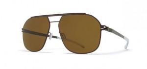 Okulary MYKITA SELLECK Mocca Camou Green / Raw Brown Solid C432