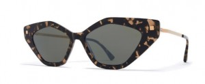 Okulary MYKITA GAPI C22 Antigua Champagne Gold / Mirror Black C942