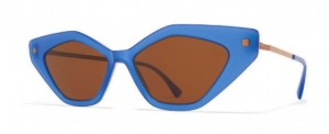 Okulary MYKITA GAPI C88 Misty Blue Shiny Copper / Brown Solid C859