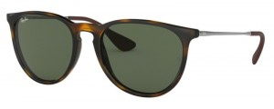Okulary RAY BAN 4171 ERIKA Light Havana / Green ORB4171-710/71