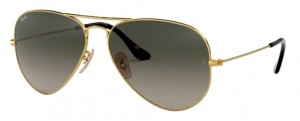 3025 AVIATOR / Gold / Gradient Dark Grey / ORB3025-181/71