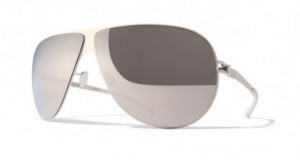 Okulary MYKITA ELLIOT Shinysilver / Sliver Flash C029