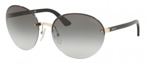 Okulary PRADA Pale Gold / Dark Grey  PR68VS-ZVN0A7