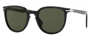 Okulary PERSOL Black / Green PO3226-95/31