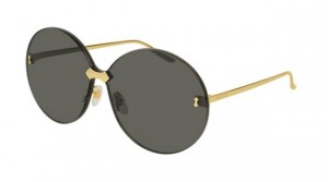 Okulary Gucci Gold / Grey GG0353S-001