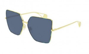 Okulary Gucci Gold / Blue GG0436S-004