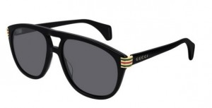 Okulary Gucci Black / Grey GG0525S-002