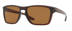 Okulary OAKLEY SYLAS Polished Rootbeer / Prizm Bronze oo9448-02
