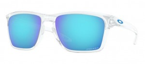 Okulary OAKLEY SYLAS Polished Clear / Prizm Sapphire oo9448-04