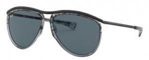 Okulary RAY BAN 3025 OLYMPIAN AVIATOR Gradient Havana Grey / Blue ORB2219-1286R5