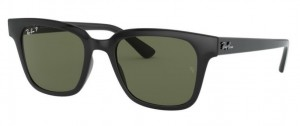 Okulary RAY BAN Black / Dark Green Polarized ORB4323-601/9A