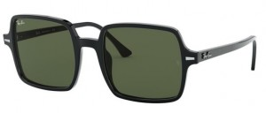 Okulary RAY BAN SQUARE II Black / Green ORB1973-901/31