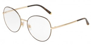Okulary DOLCE&GABBANA Gold Matte Brown DG1313-1320