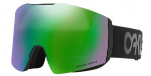 Gogle snow OAKLEY FALL LINE XL Black / Prizm Snow Jade Iridium oo7099-06