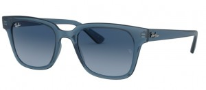 Okulary RAY BAN Trans Blue/Gradient Blue RB4323 644/8Q8