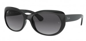 Okulary RAY BAN Black/ Grey Gradient Polar RB4325-601/T3