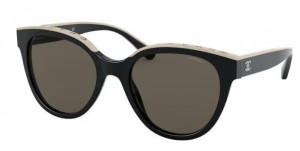 Okulary CHANEL Black / Brown CH5414-C534/3