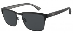 Okulary Emporio Armani 2087 Matte Black/Grey EA2087-301487