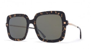 Okulary MYKITA HESTA C22 Antigua Champagne Gold / Black Mirror C942