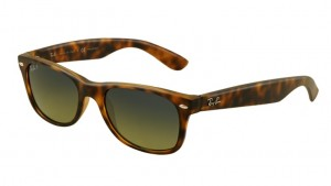 Okulary RAY BAN NEW WAYFARER Matte Havana / Blue/Green Mirror Polar ORB2132-894/76
