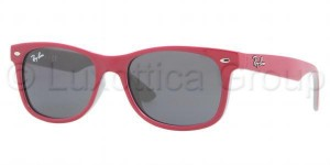 Okulary RAY BAN JUNIOR 9052S Top Red Fuchsia on Grey / Grey ORJ9052S-177/87