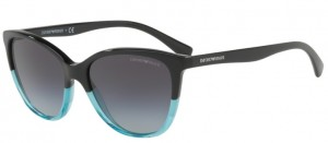 Okulary Emporio Armani 4110  Black/ Azure Grey Gradient EA4110-56328G
