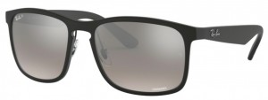 Okulary RAY BAN Matte Black / Mirror Grey Grad Polarized ORB4264-601S5J