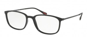 Okulary PRADA  BLACK PS03HV-1AB1O1