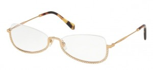 Oprawki MIU MIU ANTIQUE GOLD MU50SV-7OE1O1
