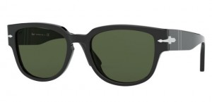 Okulary PERSOL BLACK/GREEN PO3231S- 95/31