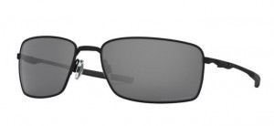 Okulary OAKLEY SQUARE WIRE BLACK IRIDIUM POLAR OO4075-05