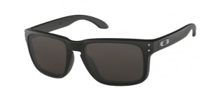 Okulary OAKLEY HOLBROOKMATTE BLACK/WARM GREY OO9102-01
