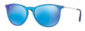 Okulary RAY BAN ERIKA Blue  / Light Green Mirror Blue ORB4171-631855