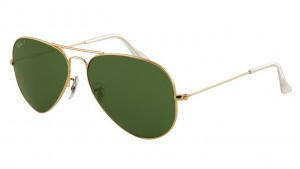 3025 AVIATOR LARGE METAL / Arista / Natural Green Polarized / ORB3025-001/58