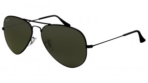 3025 AVIATOR LARGE METAL / Black / G-15XLT / ORB3025-L2823