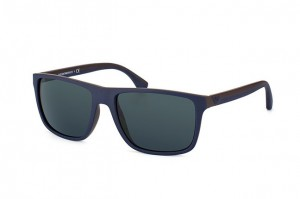 Okulary Emporio Armani 4033 Top Blue Brown Rubber / Grey EA4033-523087