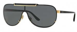 Okulary Versace Gold / Grey VE2140-100287
