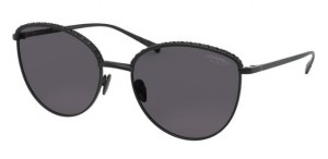 Okulary CHANEL Matte Black / Grey Polarized CH4258B-C101T8