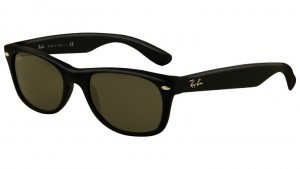 Okulary RAY BAN 2132 NEW WAYFARER Black Rubber / G-15XLT ORB2132-622 (1)