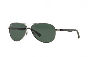 Okulary RAY BAN 8313 Gunmetal / Grey/Green Polarized ORB8313-004/N5