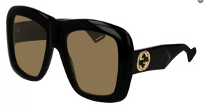Okulary Gucci Black / Brown GG0498S-001