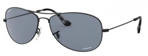 Okulary RAY BAN Matte Black / Blue Polarized RB3562-006/BA