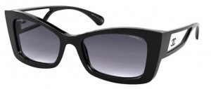 Okulary CHANEL Black / Grey Gradient CH5430-C501S6