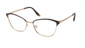 Okulary PRADA  MATTE RED/PALE GOLD PR62XV 04E1O1