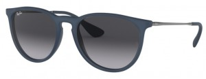 Okulary RAY BAN 4171 ERIKA Rubber Blue  / Grey Gradient ORB4171-60028G