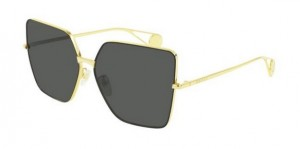 Okulary Gucci Gold / Green GG0436S-002