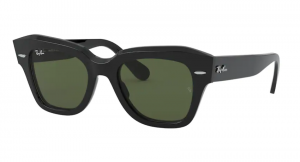 Okulary RAY BAN STATE STREET BLACK / Green RB2186-901/31